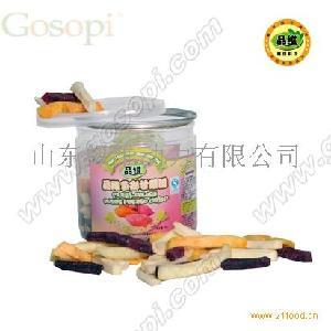 【果蔬e派】品维果蔬脆片--多彩甘薯脆(88g)
