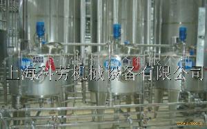 鲜奶、乳酸菌饮料成套生产线