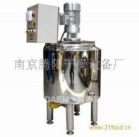 食品液体加热恒温搅拌配料罐