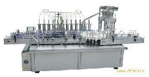 YXT-YG 12/2 全自动柱塞式十二头液体灌装双头旋盖一体机