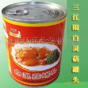 三江银白灵菇罐头