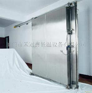 不锈钢平移冷库门