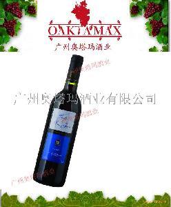 西班牙奥塔玛红葡萄酒 圣胡安伯爵干红佳酿