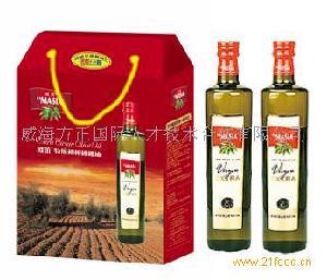 欧蕾橄榄油750ml*2款简装礼盒