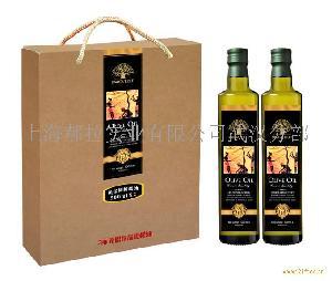 黄金树500毫升橄榄油礼盒
