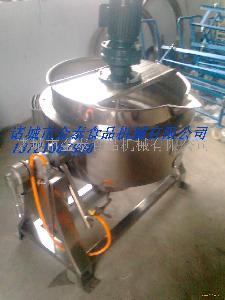厂家直销蒸汽式可倾夹层搅拌锅