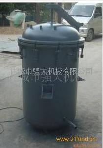 强大粽子杀菌锅|燃煤型立式杀菌锅设备