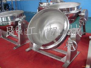 不锈钢可倾夹层锅