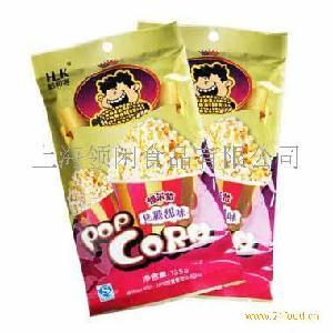 哈利客 微波炉膨化玉米(焦糖味)135g*2袋