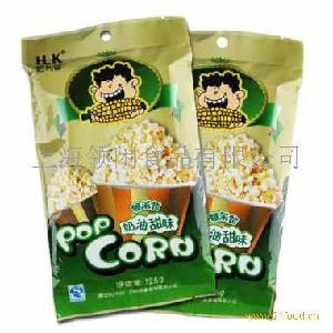 哈利客 微波炉膨化玉米(奶油甜味)(绿色包装)125g*2袋