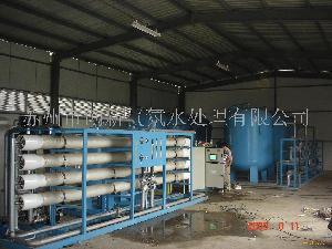 一级反渗透RO膜纯净脱盐水处理设备