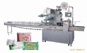 供应JBK-400智能型全自动抽取式湿巾包装机