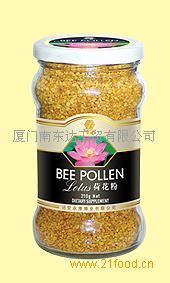 荷花 蜂花粉