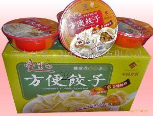冻干饺子猪肉韭菜馅