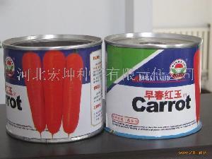 早熟杂交胡萝卜种子(早春红玉)