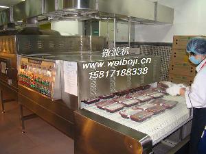 广交会展馆微波盒饭加热设备