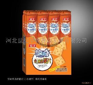 816g惊奇非油炸薯片(小小脆饼) 韩式泡菜味