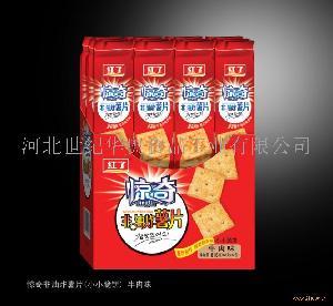 816g惊奇非油炸薯片(小小脆饼) 牛肉味
