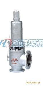 带散热器弹簧全启式安全阀高压安全阀