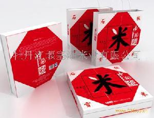 礼盒装精品米