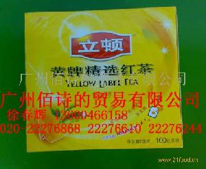 立顿黄牌红茶S100