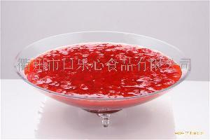 草莓刨冰浆