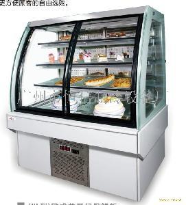 HL欧式前开门保鲜柜