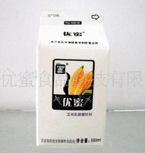 低温玉米奶