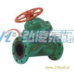 G45J-6直流式衬胶隔膜阀