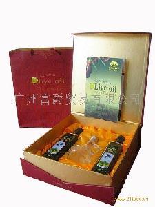 进口食品 节日橄榄油礼品装