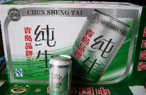 青岛品牌纯生啤酒***