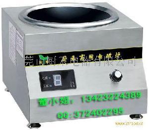 8kw商用电磁炉台式小炒炉