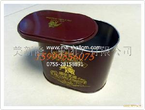 推拉式茶叶包装铁罐