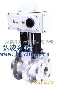 ZDRR电子式电动O型球阀