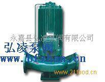 屏蔽式管道泵