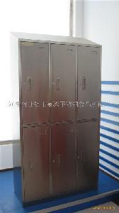 供应不锈钢六门更衣柜