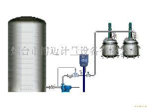 化工液体反应釜进料计量系统