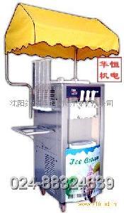 美式西部风情街头冰淇淋贩卖机