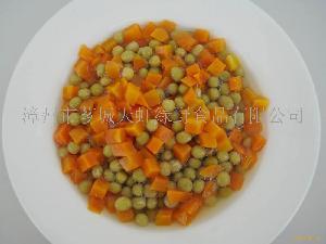 青豆胡萝卜罐头