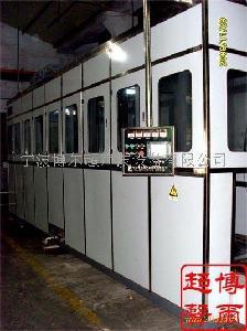 气动龙门吊臂式全自动超声波清洗系统