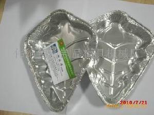 食品圣诞树铝箔碗