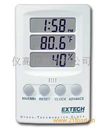 带时间显示的温湿度记录仪
