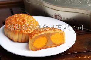 晶都双黄白莲蓉月饼