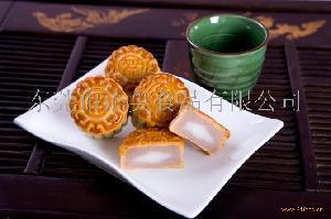 香芋麻糬月饼