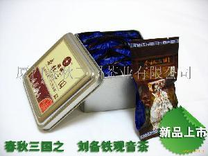 春秋三国刘备铁观音茶