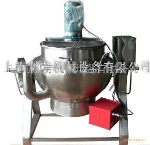 煤气搅拌夹层锅
