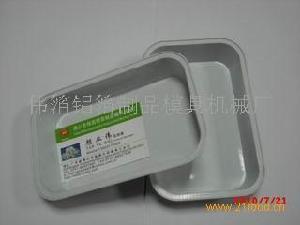 无皱涂层航空铝箔餐盒