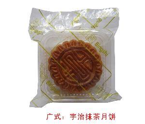 广式:宇治抹茶月饼