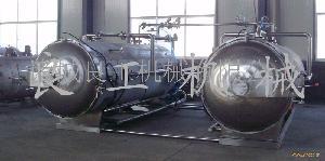 方火腿专用双锅并联水浴式高温高压调理杀菌锅