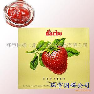德宝牌草莓份果酱